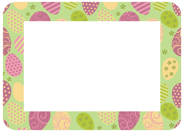 4x6 Easter pastels you won't want to hide - Pack of 5 - Fodeez® Adhesive Display Frames / Dry Erase Boards  - 6
