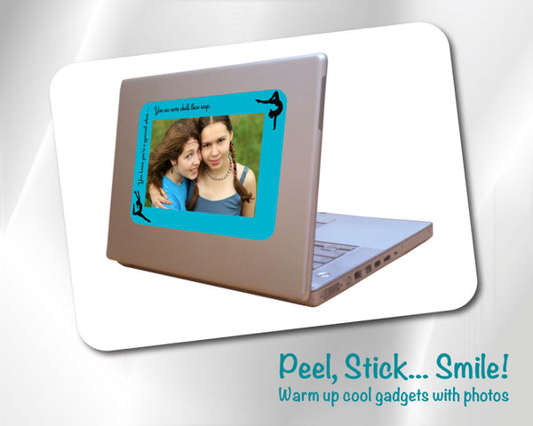 "4x6 Fodeez Frames ""You know you're a gymnast when . . . "" - Pack of 5 - Fodeez® Adhesive Display Frames / Dry Erase Boards  - 3"