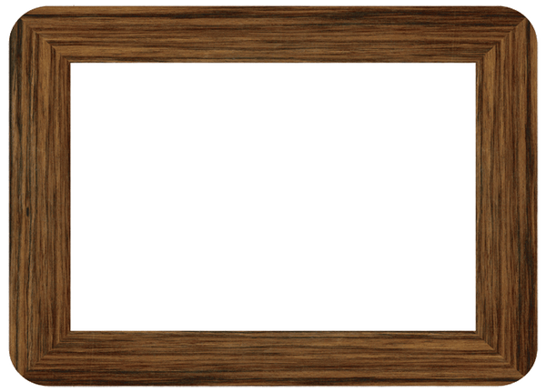 """Seconds"" Wood Self-Stick Picture Frames"