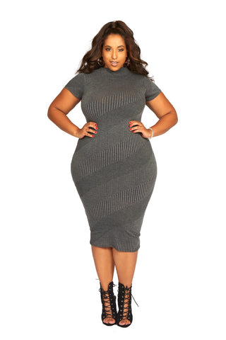 HER Making Waves Sweater Dress