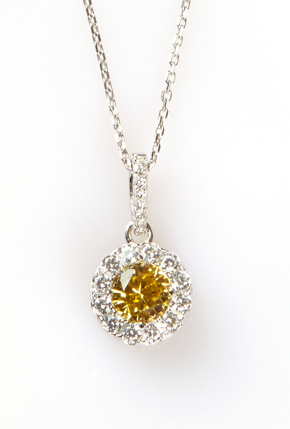 Halo Pendant Canary