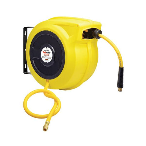 Reelworks C2782 High Visibility Safety Hose Reel 15 Metre LRT Lubricants