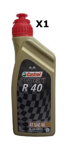 Castrol Power 1 R40 Oil 1 Litre