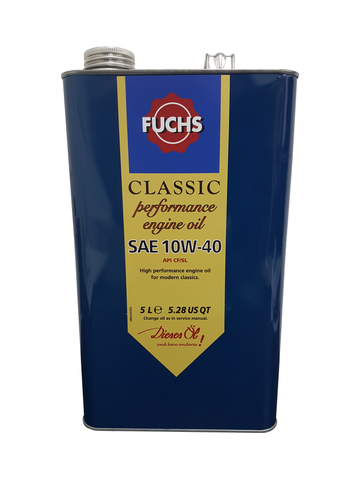 Fuchs Classic Performance 10w40 Engine Oil | LRT Lubricants