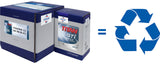 20 Litre and 5 Litre Fuchs Lube Cube