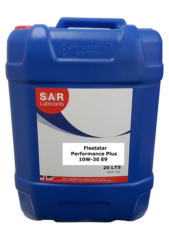SAR Fleetstar 10W-30 E9 Engine Oil - 20 Litres