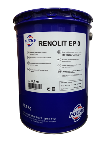 [Fuchs Renolit Semi Fluid ep0 grease] - LRT Lubricants