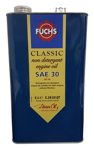Fuchs Classic Non Detergent SAE 30 Engine Oil | LRT Lubricants