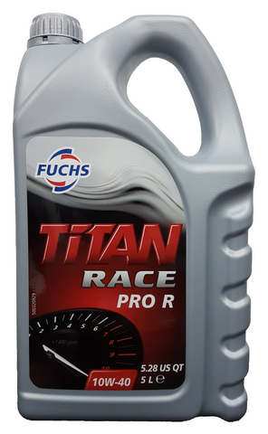 Fuchs Titan Race Pro R 10W-40 Engine Oil - 5 Litres LRT Lubricants