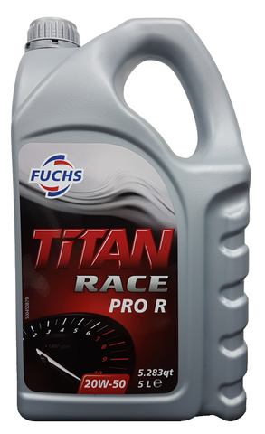 Fuchs Titan Race Pro R  20W-50 Engine Oil - 5 Litres LRT Lubricants