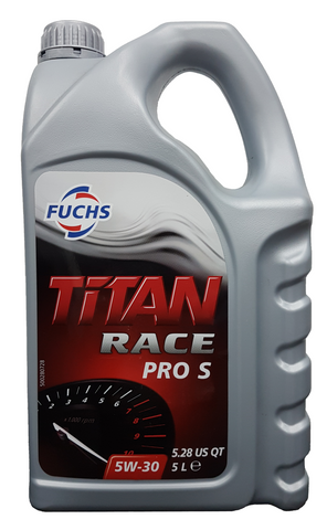 Fuchs Titan Race Pro S 5W-30 Engine Oil - 5 Litres LRT Lubricants