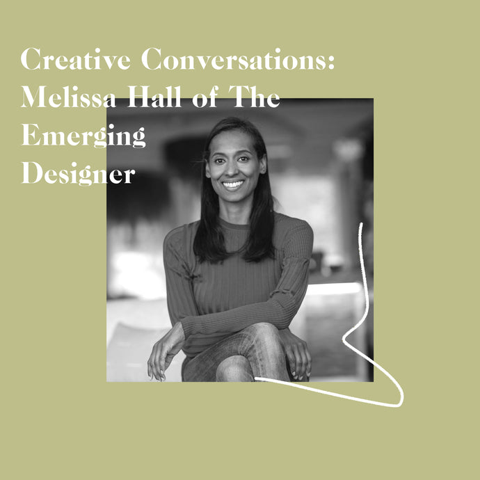 Melissa Hall of the Emerging Designer