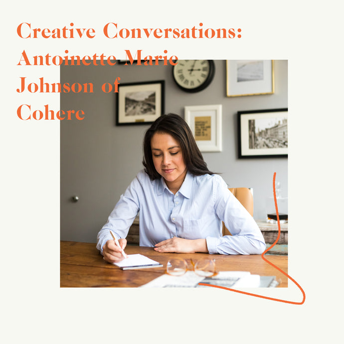 Antoinette Marie Johnson, Founder of Cohere, On Perseverance