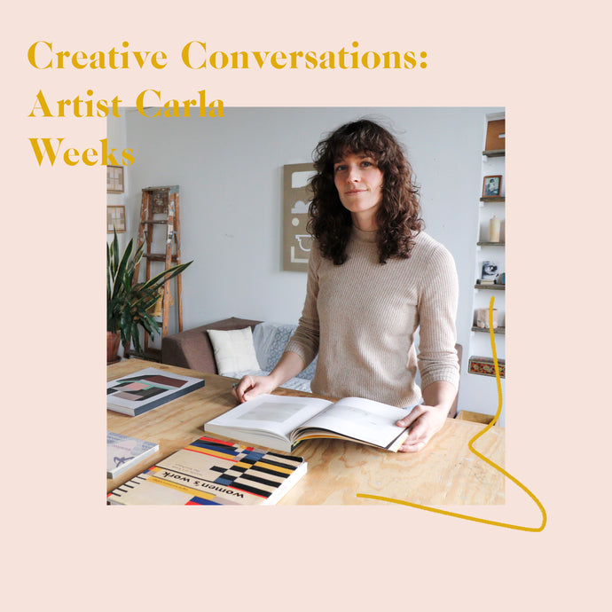 Creative Conversations with Artist Carla Weeks