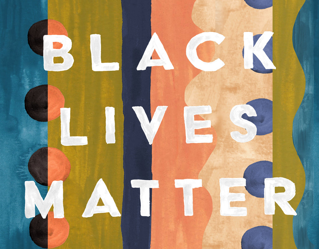 Free Black lives Matter Art Poster