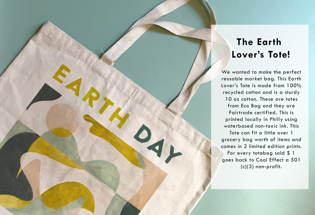 100% recycled tote bag, fair trade totebag, earth day tote bag, earth lovers tote bag