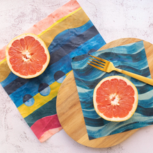 Load image into Gallery viewer, supra endura beeswax wraps, beeswax wraps, eco beeswax wraps, biodegradable beeswax wraps, eco-friendly beeswax wraps,
