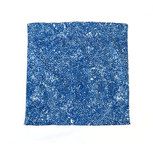 Load image into Gallery viewer, blue dotted 100%b cotton handkerchief supra endura