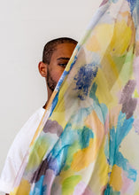"Load image into Gallery viewer, Summer Scarf Rainbow Love 36"" x 70"" Modal"