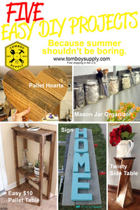 DIY Fun Guide: 5 Summer Projects