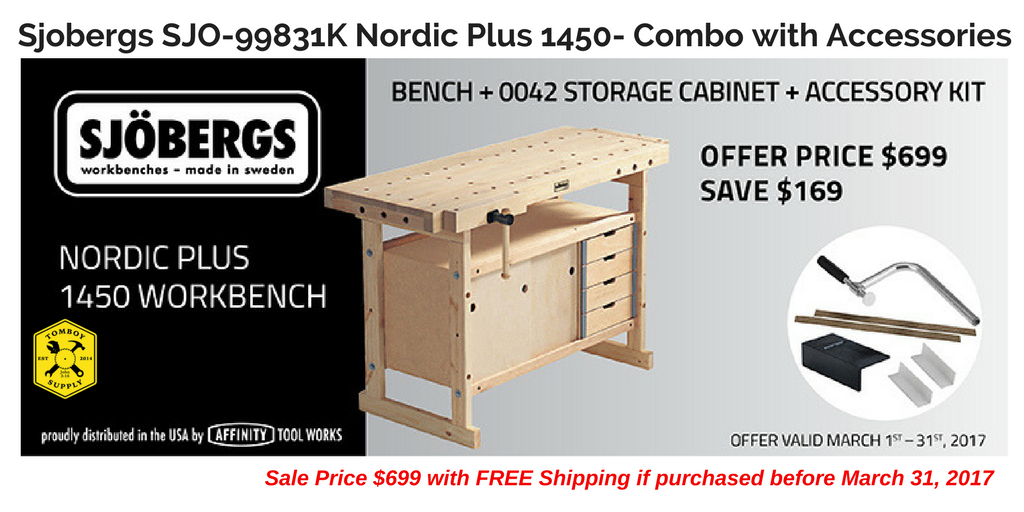 March Special: SJO-99831K Workbench & DW735X Planer