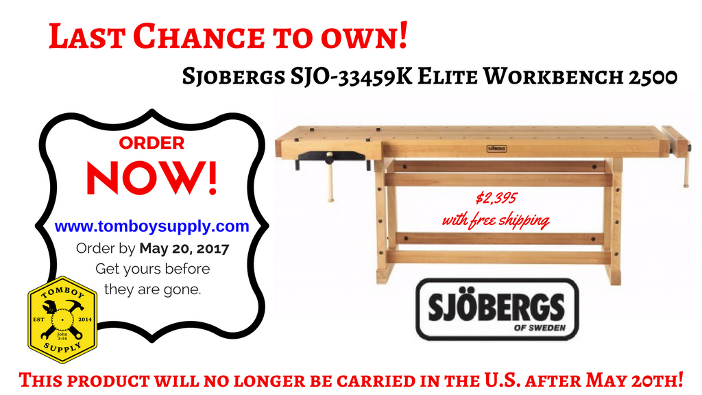 Sjobergs SJO-33459K Elite Workbench 2500
