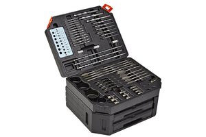 300 Piece Drill Bit Set offers unlimited versatility