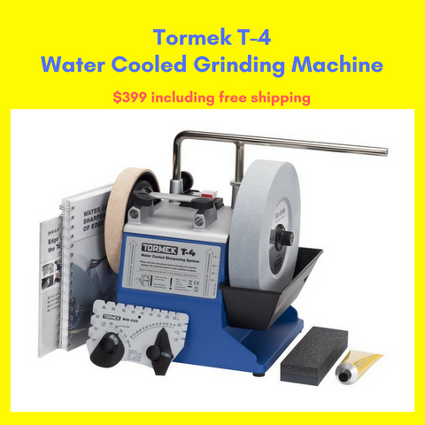 Tormek T-4 Water Cooled Grinding Machine