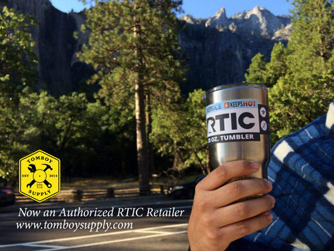 RTIC tumber from Tomboy Supply goes to Yosemite Ntnl Park