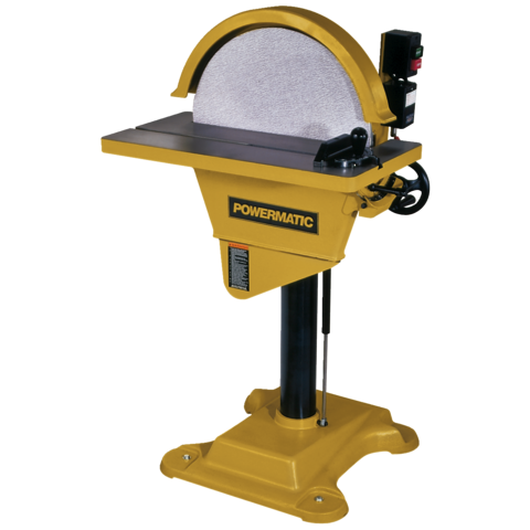 Powermatic 1791264 DS20 DISC SANDER, 3HP 3PH 230/460V