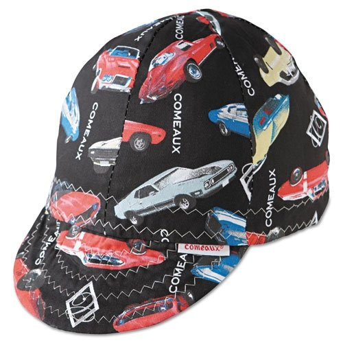 "Comeaux 20758 Caps Deep Round Crown Caps, 7 5/8"", Assorted Prints"