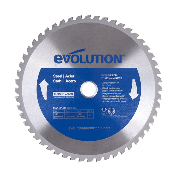 "Evolution 10"" Mild Steel Blade 10BLADEST"