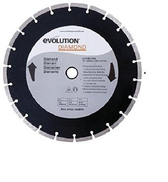 "Evolution 12"" Diamond Masonry Blade 12BLADEDM"