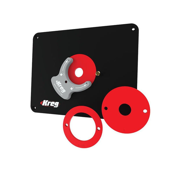 Kreg Tool Company PRS4036 Insert Plate - Predrilled for Porter-Cable and Bosch