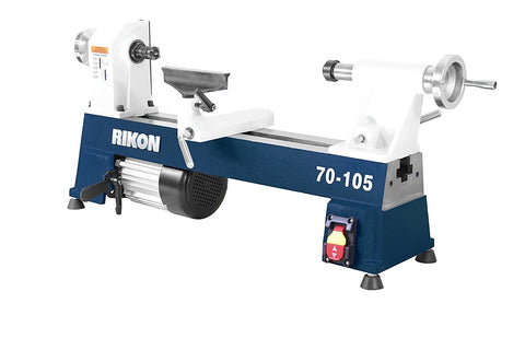 "Rikon 70-105 10"" x 18"" Mini Lathe 1/2 HP"