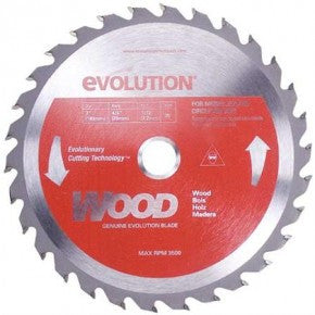 "Evolution 7"" Wood Blade 180BLADEWD"