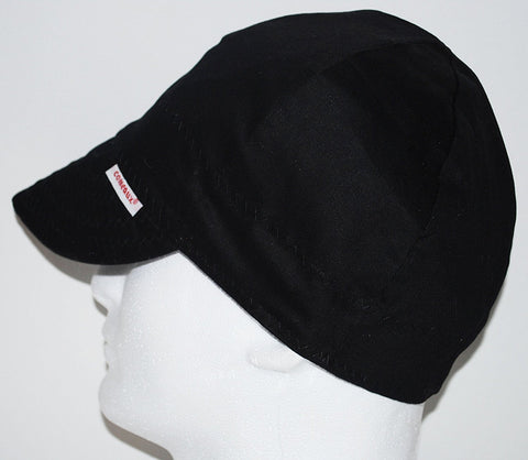 Comeaux BL23712 Caps Reversible Welding Cap Solid Black 7 1/2