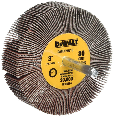 DeWalt DAFE1H0810, HP FLAP WHEEL
