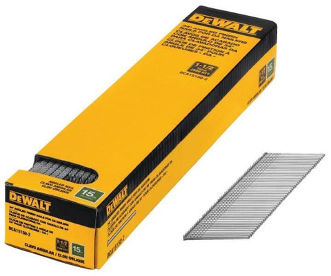 DeWalt DCA15150-2, 15 GAUGE DA ANGLED FINISH NAILS