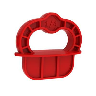 Kreg DECKSPACER-RED Deckspacer Red Deck Jig Spacer Rings 1/4 Red (12 Pack)