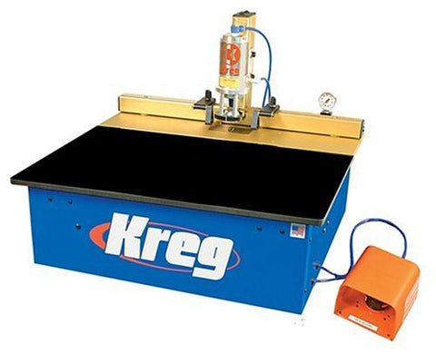Kreg DK1100 TP 1-1/4 Horsepower Bench Pnuematic Fully-Automatic Single Spindle Pocket Machine
