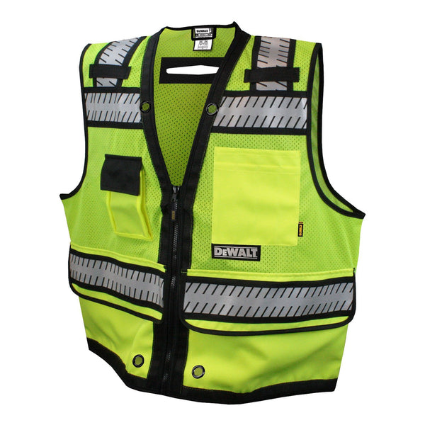 DEWALT DSV521-L Class 2 Heavy Duty Surveyor Vest, Large