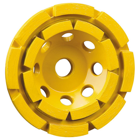 DEWALT DW4774 4-1/2-Inch Double-Row Diamond-Cup Grinding-Wheel