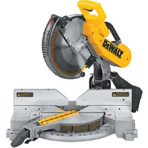 DEWALT DW716 15 Amp 12-Inch Double-Bevel Compound Miter Saw