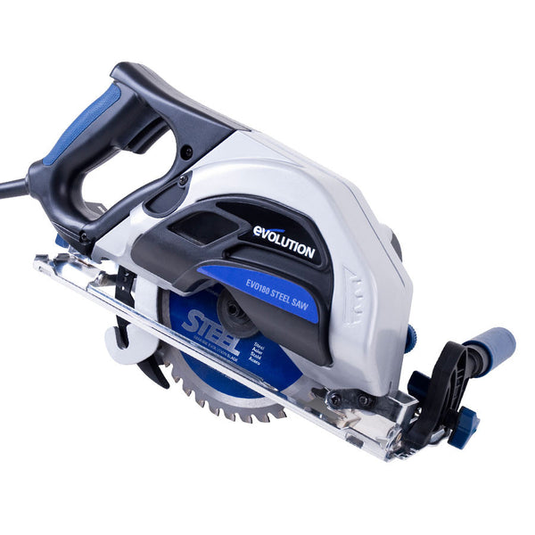 "Evolution Power Tools EVOSAW180HD 7-1/4"" TCT Industrial Circular Saw"