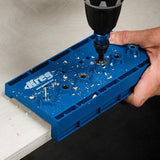 "Kreg Shelf Pin Jig with ¼"" (6mm) Drill Bit KMA3200"