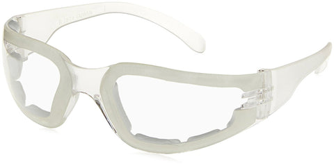 Radians MRSF111ID Mirage Foam Lined Safety Eyewear with Clear Anti-Fog Lens