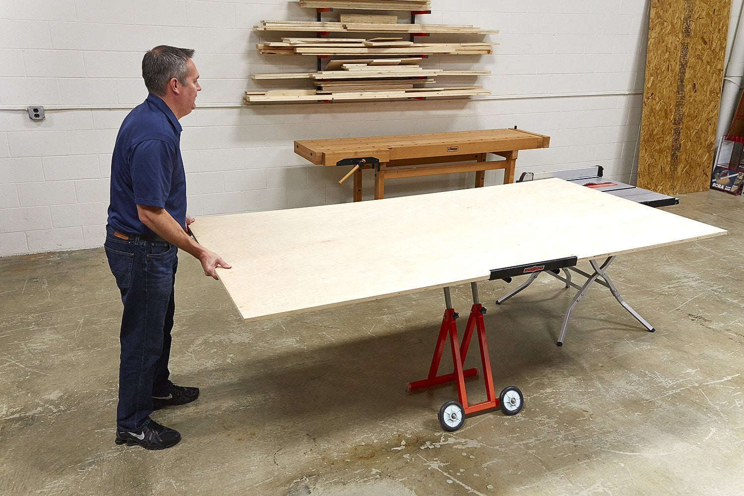 Portamate Pm 1800 Panel Carrier For Use With Table Saws