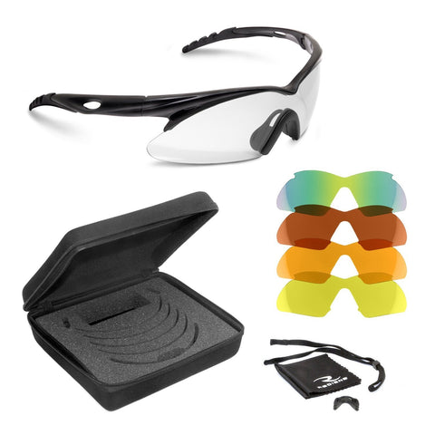 Radians SH500CS Shift Interchange Shooting Glasses (5 Interchangeable Lenses)