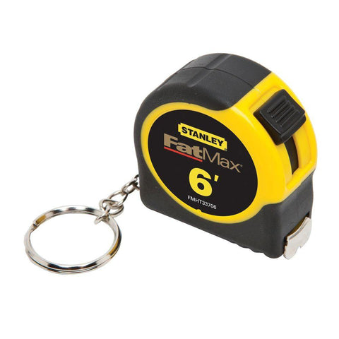 Stanley FMHT33706M 6 Feet Compact Size Keychain Tape Rule Measure